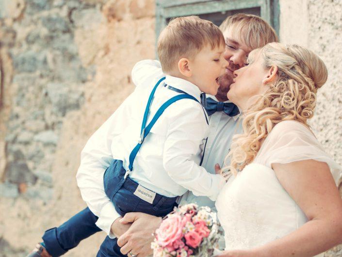 Hochzeitsfotos & heimlicher Hauptakteur